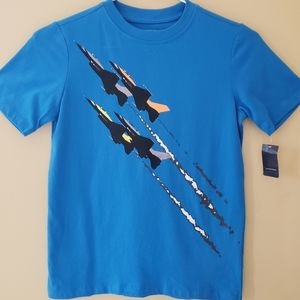 Lands' End Big Boys Graphic Tee